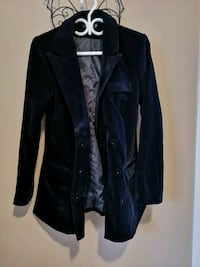Deep Blue Velour Ladies Blazer Size 10 Cambridge, N1R 6X9