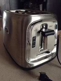 gray and white Oster 2-slice bread toaster Fairfax, 22030