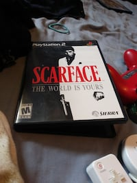 SCAR FACE COMPLETE 100 % TESTED LIKE NEW W MANUAL BLACK LABEL 35.00