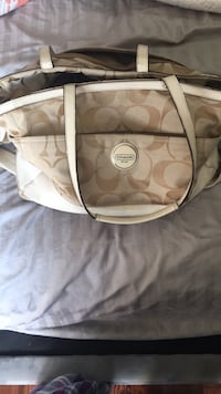 Coach diaper bag. Priced to sell