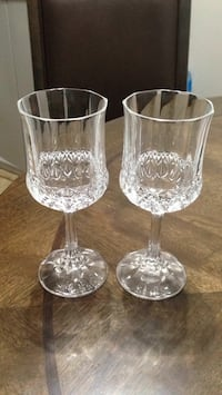 2 Real Crystal Champagne Glasses  Madison Heights, 48071
