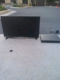New TV and DVD player blue ray disk player