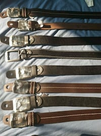 LEATHER BELTS NEW $18 each Edmonton, T6L 7C1