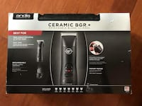 New!! Andis Professional Ceramic Hair Clipper with Detachable Blade, Model BGR+ St Thomas, N5R 6M6