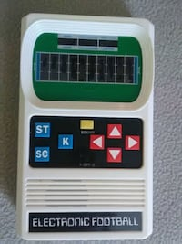 Vintage Style Handheld Electronic Football Game Venice, 34292