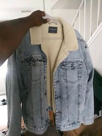 Jean jacket with wool lining Owings Mills, 21117