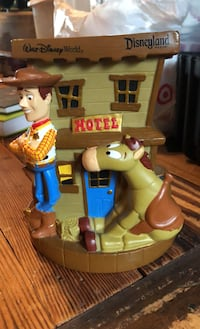 Toy story woody piggy bank Disney world exclusive Westfield, 07090