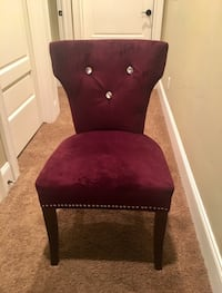 2 Matching Red Velour Chairs Provo, 84604