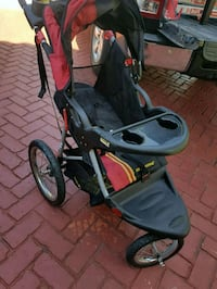 baby's black and red jogging stroller Pembroke Pines, 33027