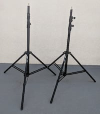 Pair of Impact Air-Cushioned Light Stands West Hollywood