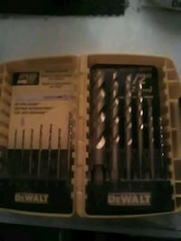 Dewalt 13pc. Drill bit set Las Vegas, 89107