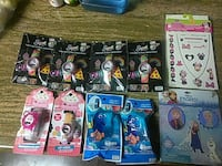 assorted plastic toy and watch pack lot