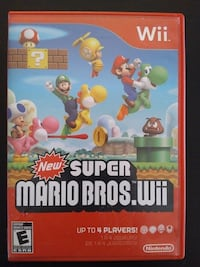 Nintendo Wii New Super Mario Bros  Vaughan, L4L