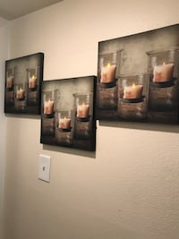 3 light up candle pictures Salt Lake City, 84117