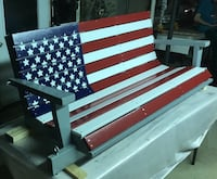 American Flag Porch Swing Northern Cambria, 15714