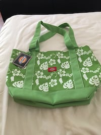 Green new Dickies hibiscus tote bag Los Angeles, 90019
