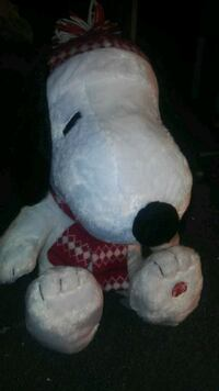 Snoopy plush toy with song