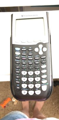 black and white Texas Instruments TI-84 Plus Tucson, 85713