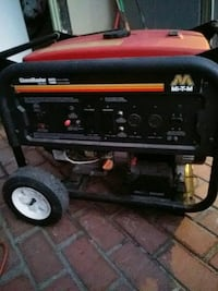 black and red portable generator Oakland, 94605