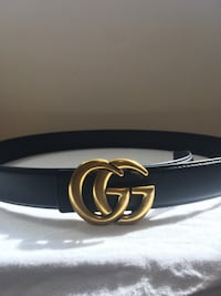 Gold on Black Gucci Rep Belt Mississauga, L5N 7G3