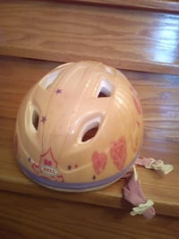 Girl's Toddler Bell bike scooter helmet