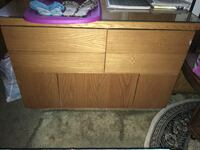brown wooden 2-drawer chest West Warwick, 02893
