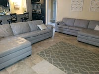 Chaise leather couch (like new) Lakeland, 33813