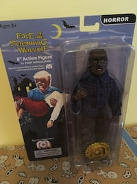 """The Face of the Screaming Werewolf 8"""" Mego Figure"""