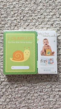 Baby's first moments card Devon, T9G 1V5