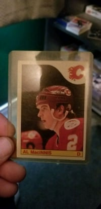 Al Macinnis rookie card Burlington, L7L 6K9