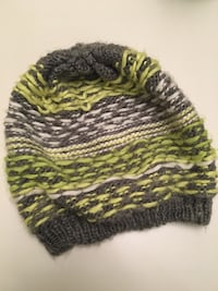 toddler's green and gray knit cap Halifax, B3K 3W1
