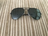 All black Ray Ban Aviator Polarized sunglasses Fairfax, 22033