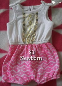 Baby girl clothes (NB)  Merced, 95348