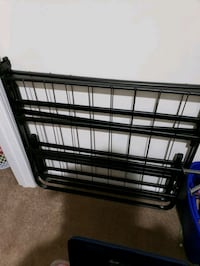 black metal folding bed frame Manassas, 20111