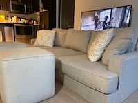 Sofa and ottoman  Toronto, M6A 0B5