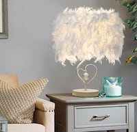 Feather lamp MARKHAM