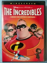 The Incredibles collectors edition dvd