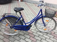 City ​​bike blu e nera Canegrate, 20010