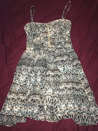 White and black floral sleeveless dress Dartmouth, B3A 3Y9