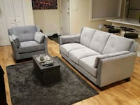 Modern Couch and Chair for sale $350  Vancouver, V6P 6J6