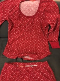 Brand new! Women's red matching Pajama set Montréal, H4B 1Y9