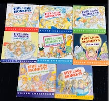 Five Little Monkeys 8 Book Collection