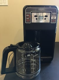 Krups Savoy Programmable Digital Black Coffee Maker Vancouver, V5S 1C9