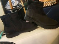 Kenneth Cole reaction boots leather