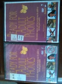 Adult phonics DVD Washington