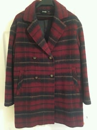 Blue and red plaid button up jacket Bethesda, 20814