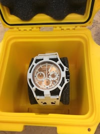 Invicta watch with white rubber band 851122-2  Baltimore, 21205