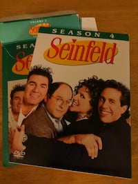 Seinfeld Season 4 DVD case with box Eastover, 29044