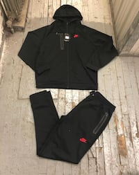 black and red Nike zip-up jacket Charlotte, 28208