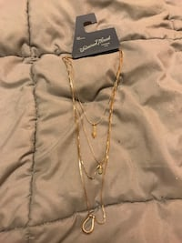 Gold necklace from Target Alexandria, 22311